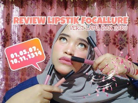 review-lipstik-focallure-versi-lama-dan-versi-baru//-no,-01,05,07,10,11,13,14
