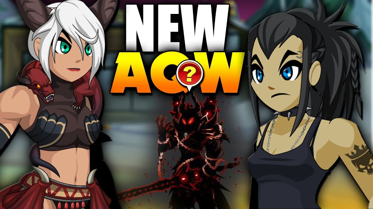 NEW ITEMS! Mirror Realm Nulgath Items! AQW