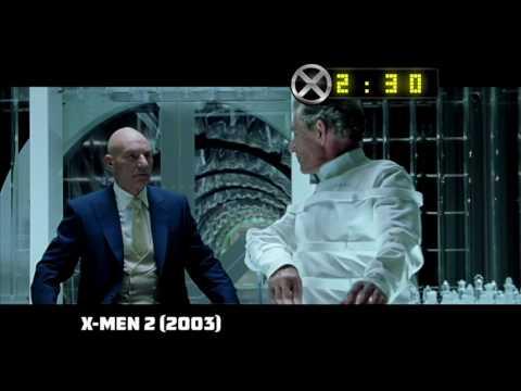 La primera trilogía de X-Men en cuatro...