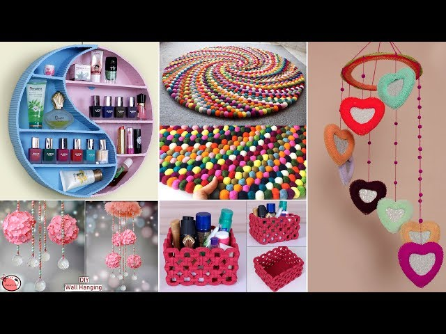 10 Use Full ! DIY ROOM DECOR & Organization Idea !! DIY Projects