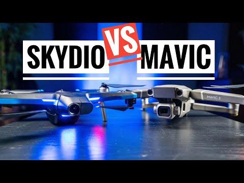 Skydio 2 vs Mavic 2 Pro