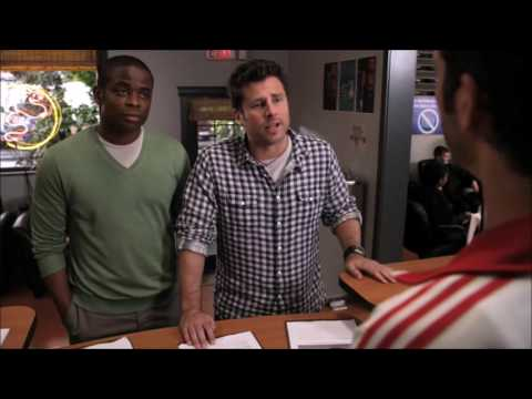 Psych : Gus Playing The Race Card