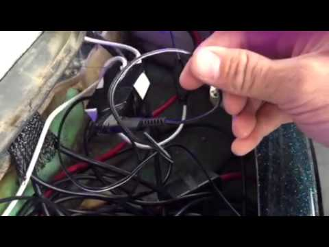 Wiring LED Strips Lighting on Ranger Bass Boat YouTube