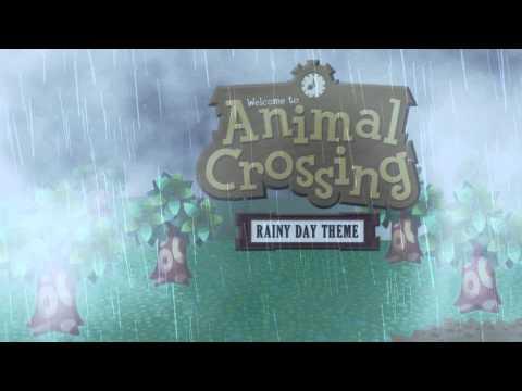 Animal Crossing Rainy Day Theme (Animated Desktop) - YouTube