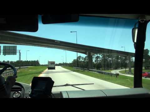 Walt Disney World Bus Ride: Saratoga Springs to Animal Kingdom
