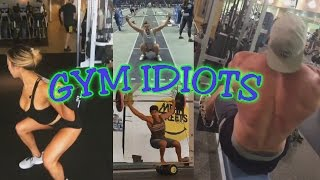 Repeat youtube video Gym Idiots - Hideous CrossFit Snatches & Brad Castleberry Cheat Rows