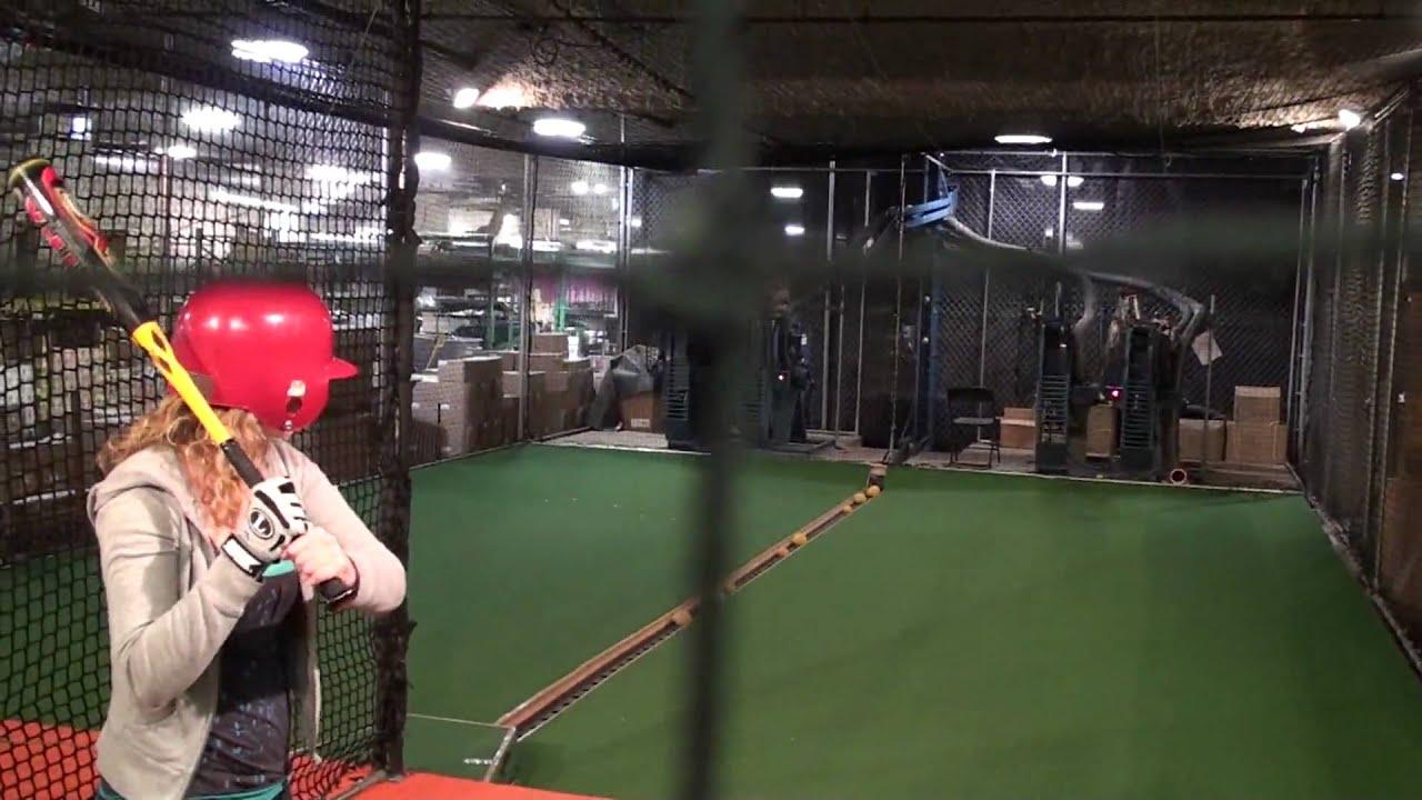 batting cage louisville slugger museum u0026 factory youtube