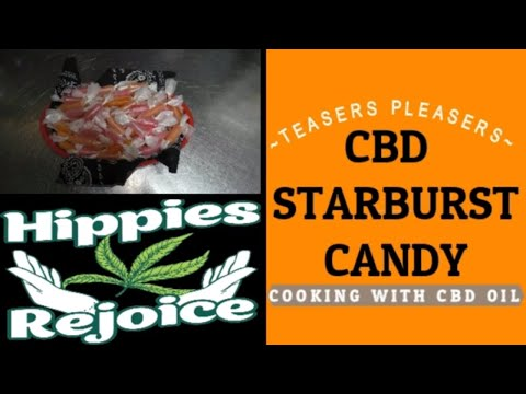 Repeat CBD STARBURST CANDY ~COOKING WITH CBD OIL~ by Teasers