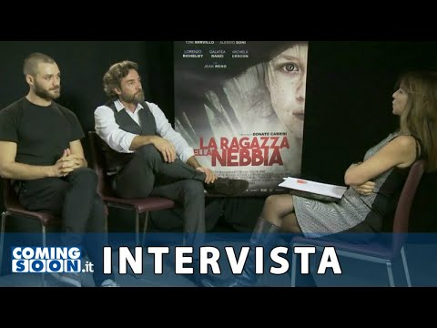 La ragazza nella nebbia: Intervista esclusiva di Coming Soon a Alessio Boni e Lorenzo Richelmy  HD