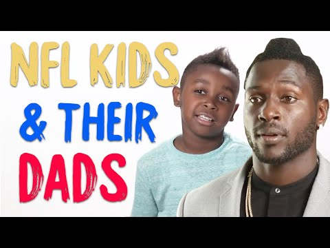 NFL Stars' Kids Love Their Everyday Dads | Happy Father's Day!