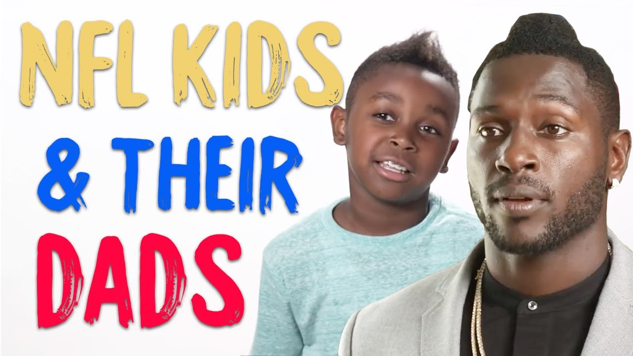 nfl stars� kids love their everyday dads happy fathers