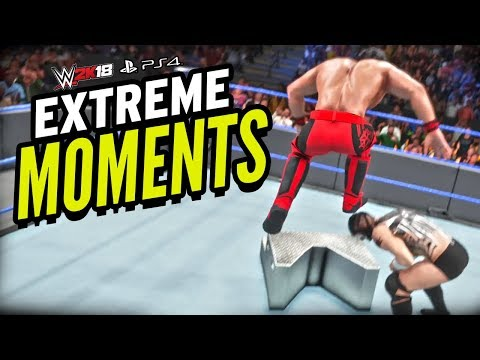 WWE 2K18 - Extreme Moments (PS4) thumbnail