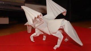 origami pegasus tutorial, (satoshi kamiya) part 3/5