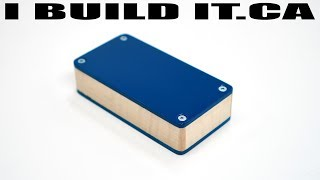 Making This Aluminum And Wood Project Box