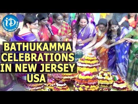Bathukamma Celebrations In New Jersey,  USA - Telangana American Telugu Association