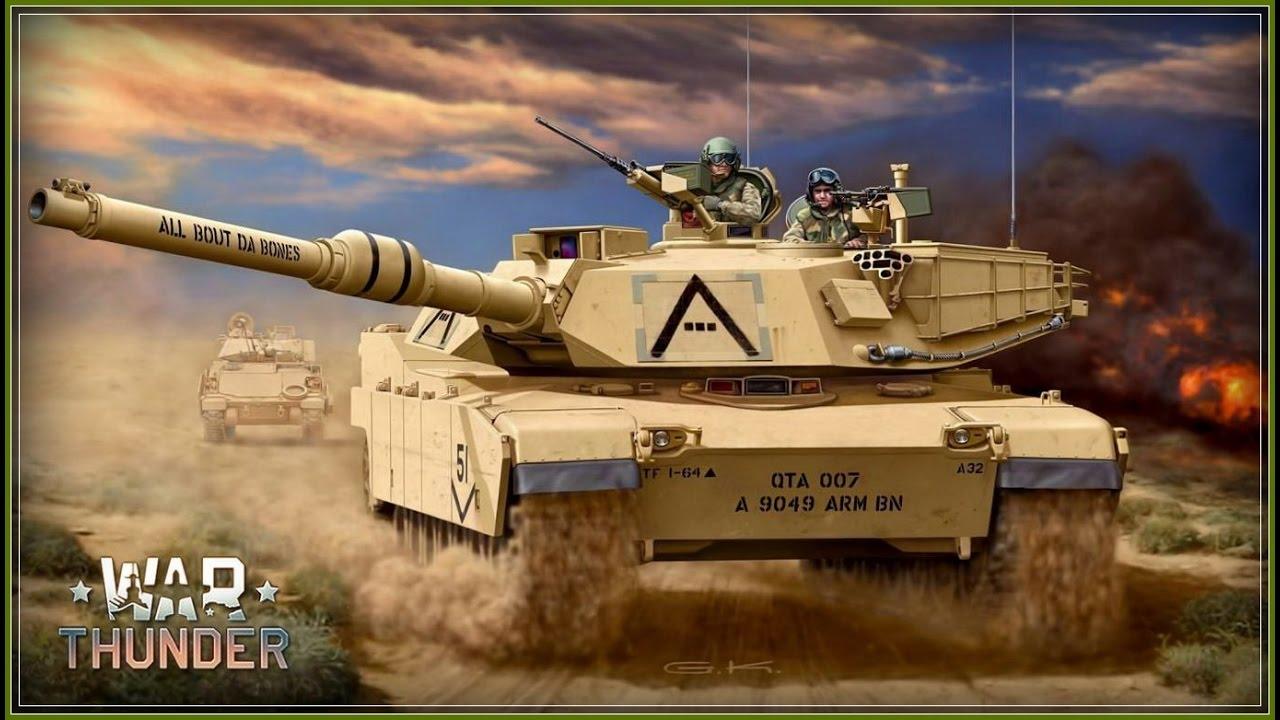звук двигателя танка в war thunder