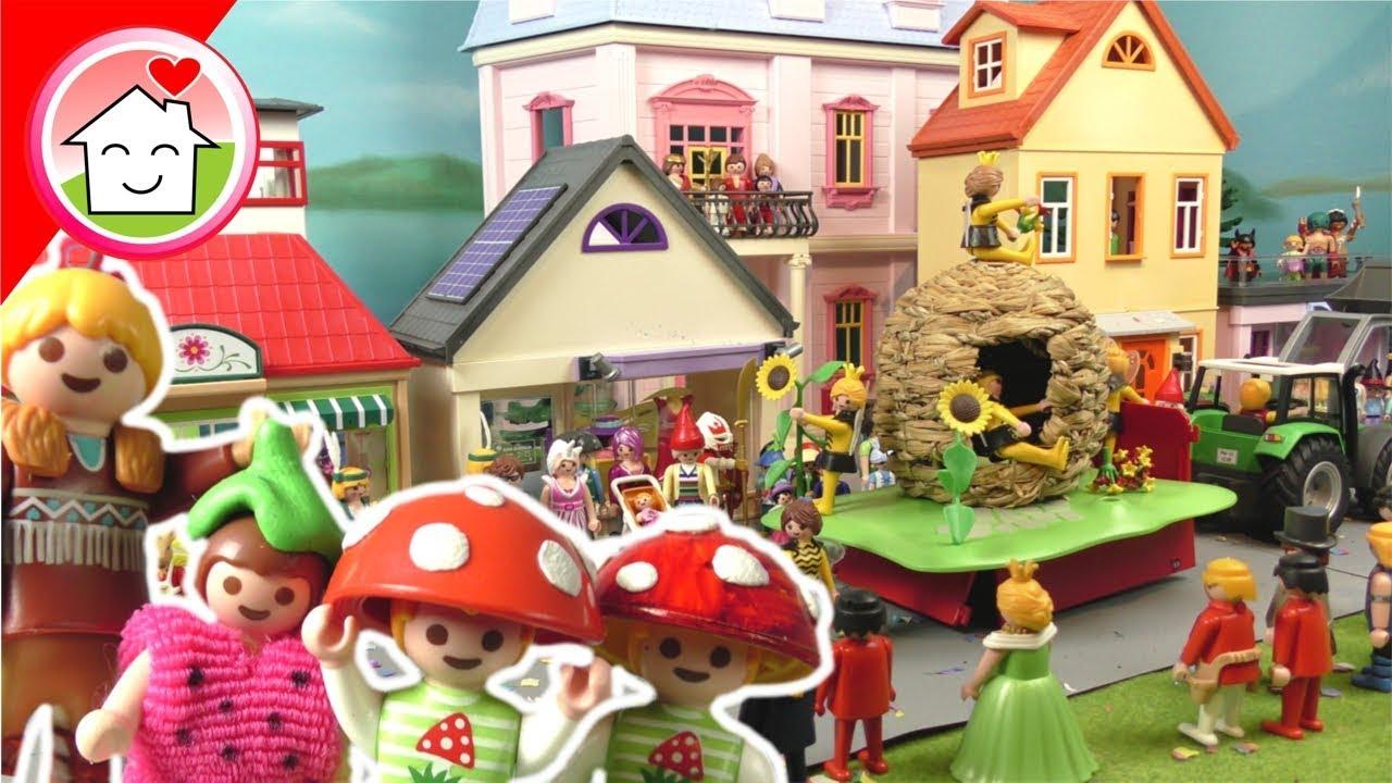 Playmobil Film Deutsch Rosenmontagsumzug Mit Familie Hauser