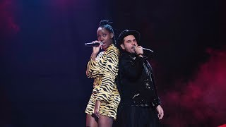 Jemima Hicintuka & Joakim Jakobsson sjunger Never forget you i Idol 2017 - Idol Sverige (TV4)