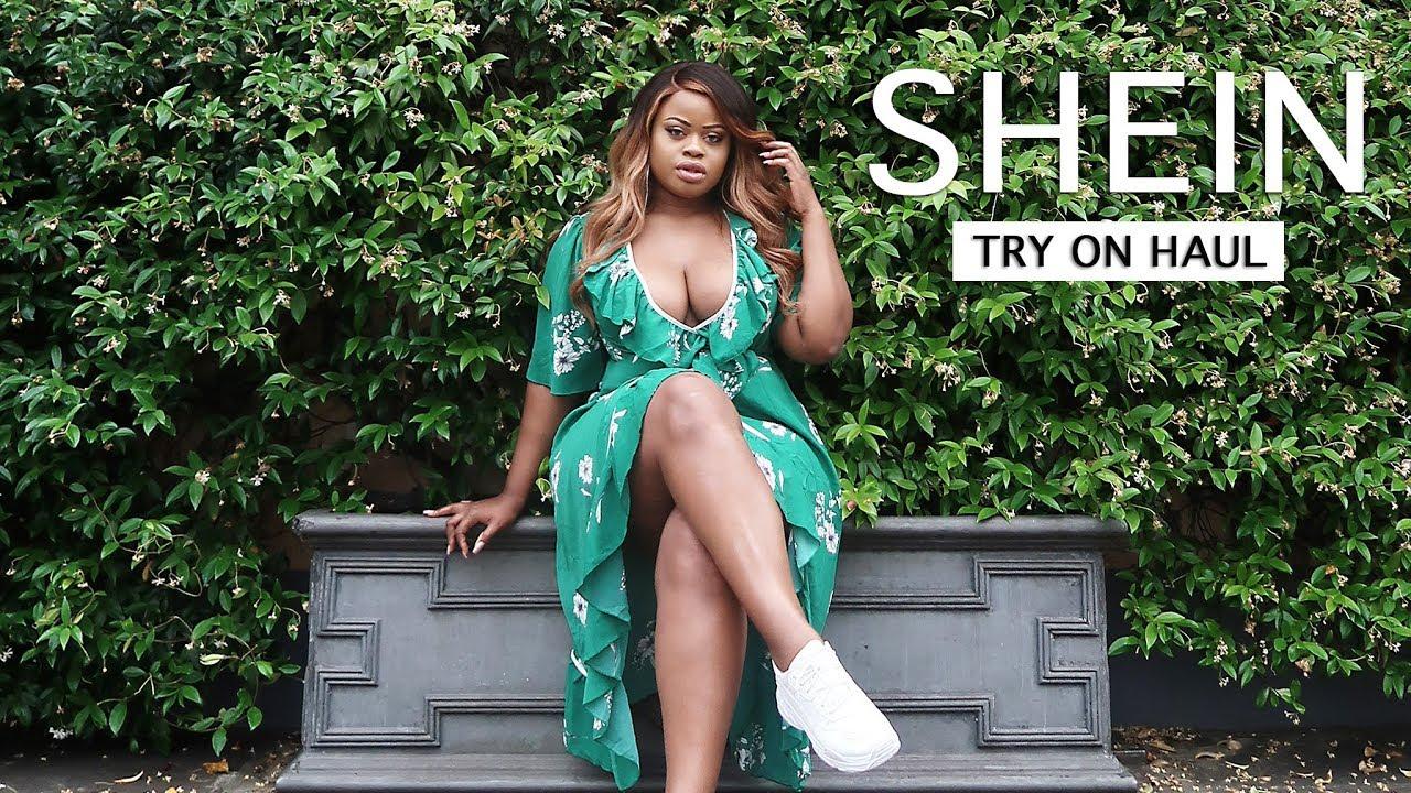 a62c70b596 Shein Summer Holiday Plus Size Try On Haul | Edee Beau - YouTube