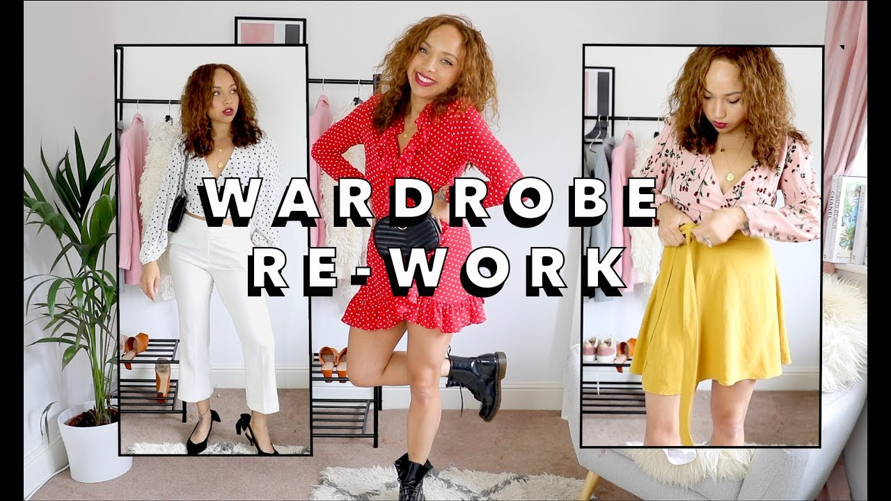 Summer outfits you already own!   WARDROBE RE-WORK 2
