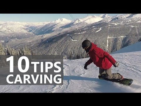 10 Tips for Snowboard Carving Turns