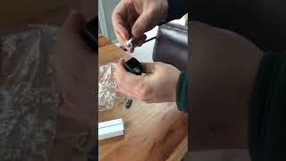 거품기 건전지 삽입방법