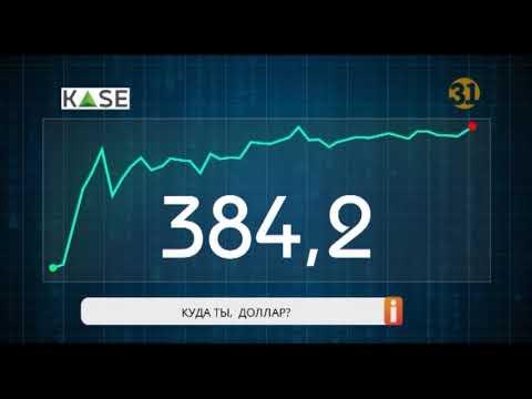 Курс доллара вновь насторожил казахстанцев