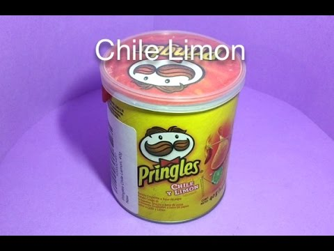 Mini Pringles Chile Limon