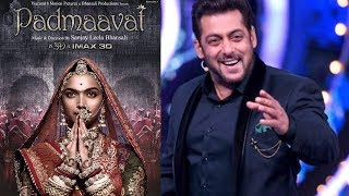 Salman Khan Promotes Padmaavat Again On Bigg Boss 11 FINALE
