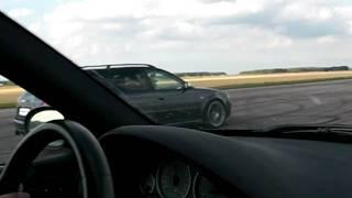 M5 e39 Supersprint vs Audi RS6 550hp 50-250km/h