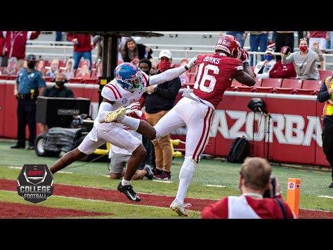 Ole Miss Rebels vs. Arkansas Razorbacks | 2020 College Football Highlights