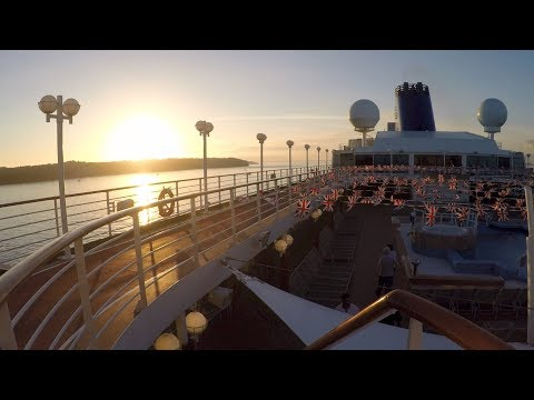 P&O Cruises - 3 week Cruise on Adonia with Crazy Weather