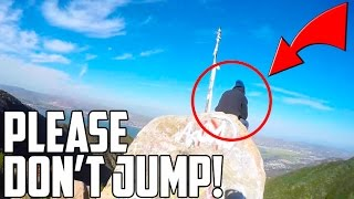 SAVING A MAN FROM COMMITTING SUICIDE!