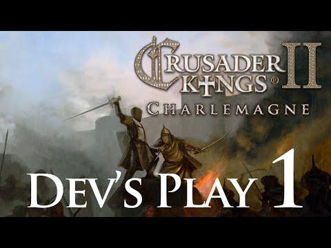 Crusader Kings 2 Charlemagne - Dev's Play 1 |