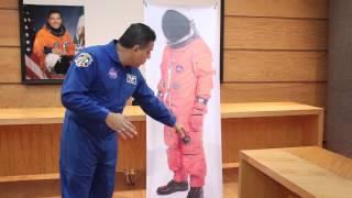 ¿Cómo es el traje de astronauta?