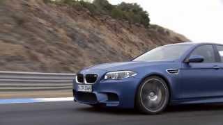 NEW BMW M5 2014 - TEST Drive   AutoMotoTV