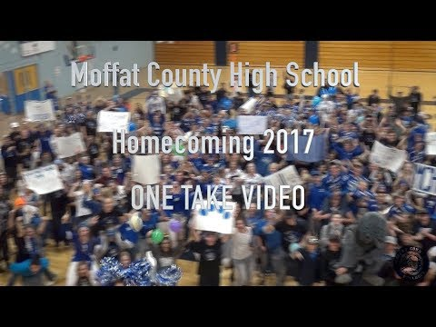 "2017 Moffat County High School ""Lip-Dub"" - ONE TAKE VIDEO"