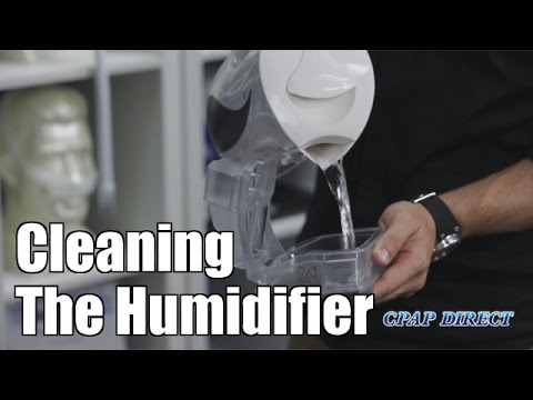 Cleaning The Humidifier - CPAP Secrets
