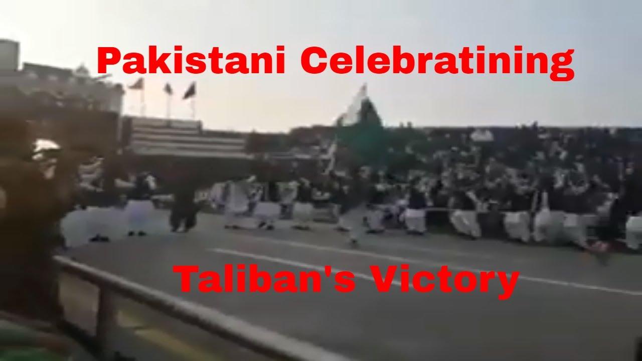 Pakistani Celebrating Taliban's Victory At Wagga Boarder - NEWS