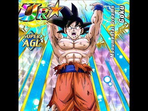AGL Goku SA Level 10 DOKKAN MODE! Nuking Super Gogeta: Dragon Ball Z Dokkan Battle