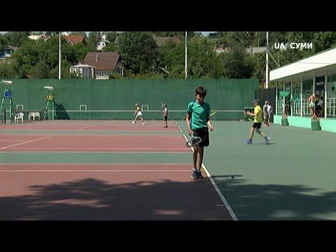Суспільне Суми: У Сумах стартував чемпіонат міста з тенісу серед дітей
