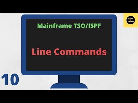 TSO ISPF - Line Commands Tutorial for IBM Mainframe