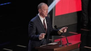 Jim Kelly gets standing ovation before announcing Bills 2nd round pick: 2015 NFL Draft