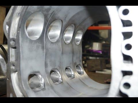 4 Rotor Hybrid Race Engine Build for 767b Mazda Race Car
