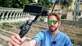 Zhiyi Smooth 4 Great Gimbal In Depth Агляд
