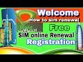 How To Etisalat Sim Online Renewal-Registration Free In The