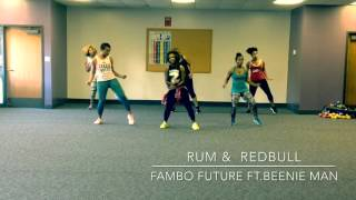 Dance Fitness With Nika D- Rum & Redbull By Future Fambo Feat. Beenie Man