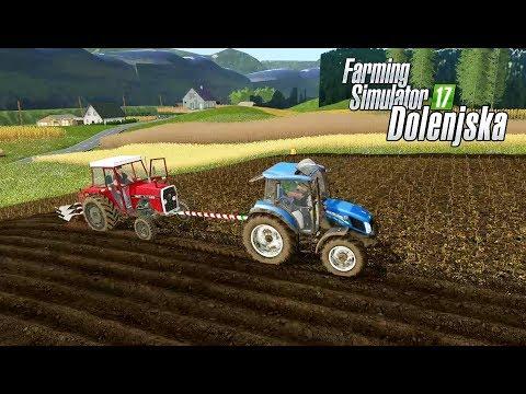 Manure - plowing - cultivating in Dolenjska [UTH17] - Farming 17