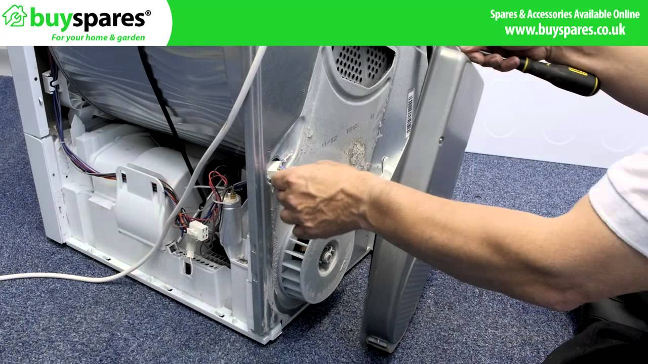 How To Replace A Tumble Dryer Heater Hotpoint Or Indesit Youtube Hoover Wiring Diagram