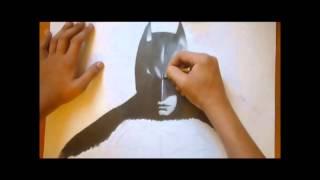 Batman Speed drawing / Szybkie rysowanie